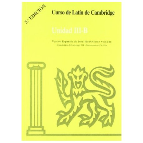 Curso de Latín de Cambridge. Unidad III-B
