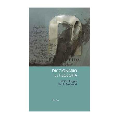 Diccionario de filosofía.