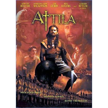 Atila. Los hombres le siguieron. Las mujeres le amaron. Roma tembló. No recomendada a menores de 13 años. DVD