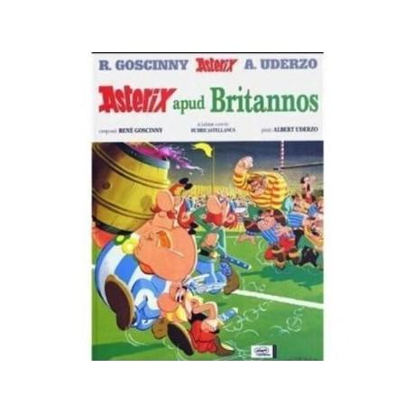Asterix Apud Britannos. Edición en latín.