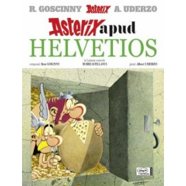 Asterix apud helvetios. Edición en latín