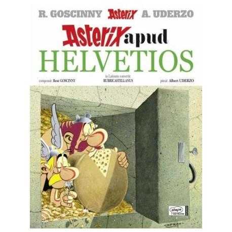 Asterix apud helvetios. Asterix en latín