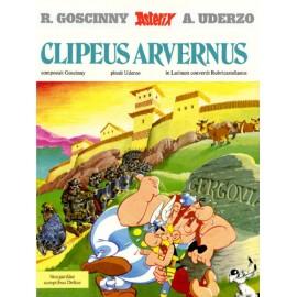Asterix Clipeus Arvernus. Edición en latín. Dibujos