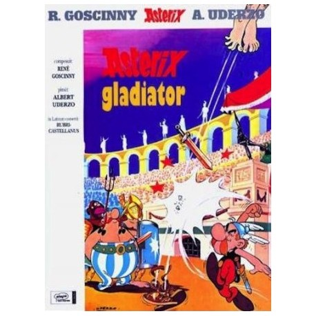 Asterix Gladiator. Asterix en latín