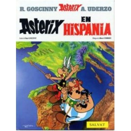 Asterix in Hispania. Edición en latín.