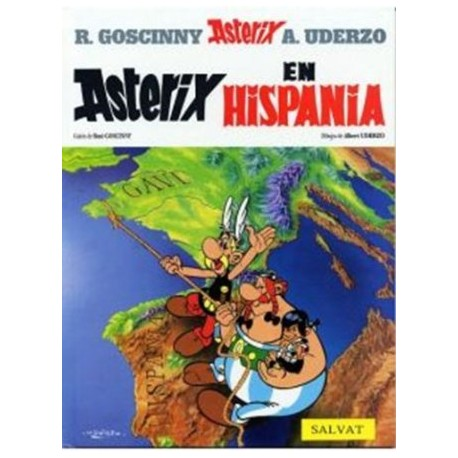 Asterix in Hispania. Edición en latín.