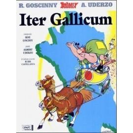 Asterix Iter Gallicum. Edición en latín. Dibujos