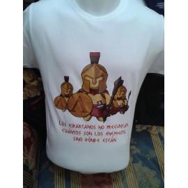 """Camiseta """"Espartanos"""""""