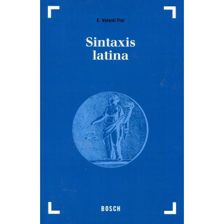 Sintaxis latina.