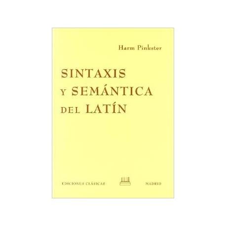 Sintaxis y semántica del latín