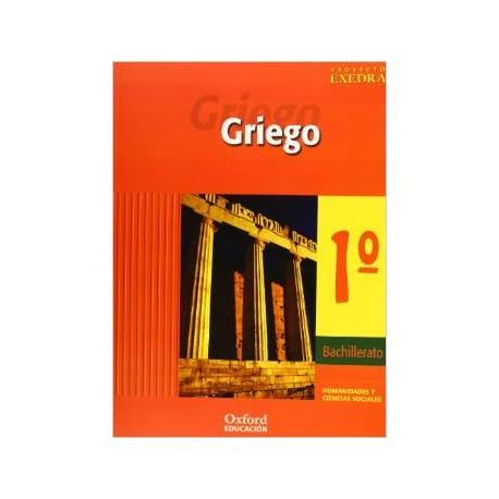 Griego 1º Bachillerato. Humanidades y ciencias sociales