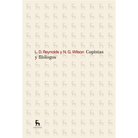 Copistas y filólogos.
