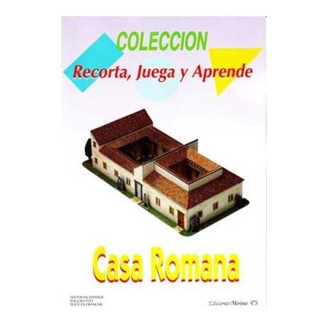 Casa Romana. Recortable (Dificultad : Fácil)