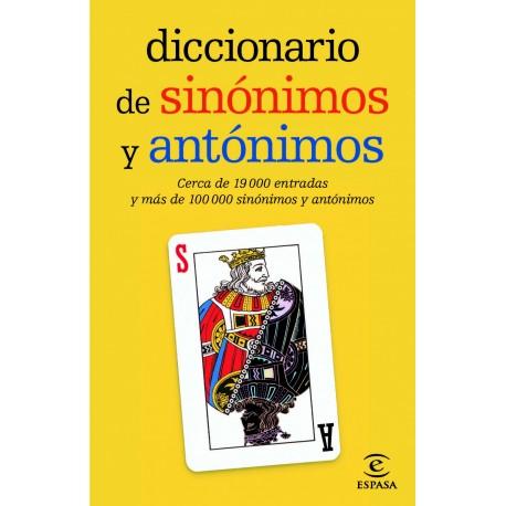 Diccionario de sinónimos y antónimos. (Ed. de bolsillo)