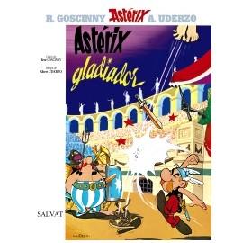 Astérix gladiador. Edición en español