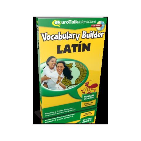 Vocabulary builder. Latín. Palabras y frases básicas y esenciales para principiantes. CD ROM