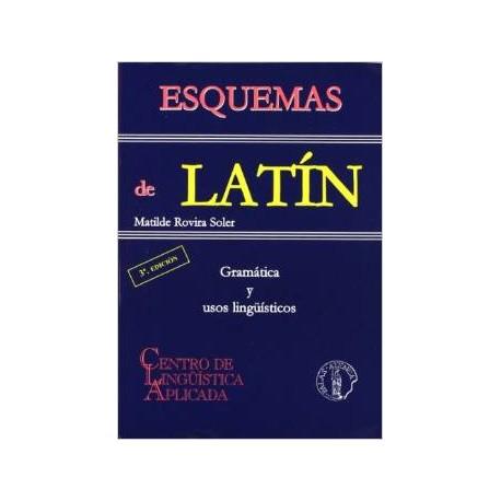Esquemas de latín. Gramática y usos lingüísticos