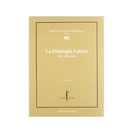La filología latina. Mil años más. 3 vols.