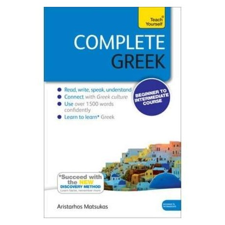 Complete Greek (Pack Libro + 2 Cd-audio) A1-B2