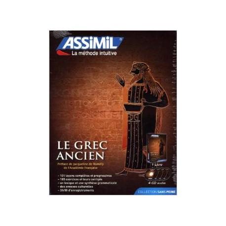 Le Grec ancien sans peine (1 livre + coffret de 4 CD) (CD audio)