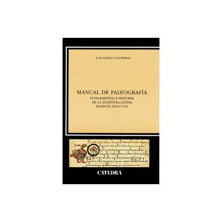 Manual de paleografía