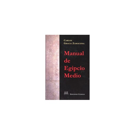 Manual de Egipcio Medio