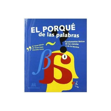El porqué de las palabras. Libro del profesorado.
