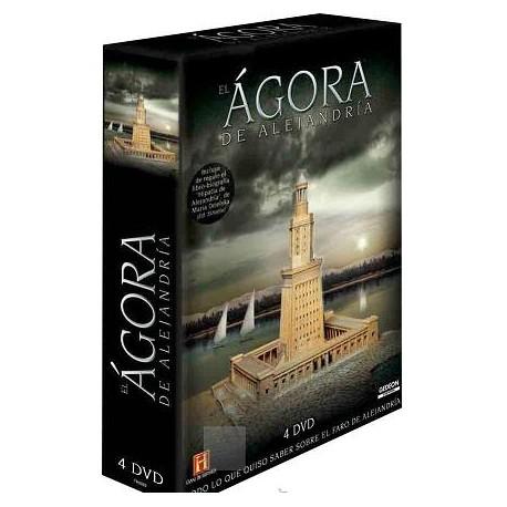 El Ágora de Alejandría. 4 DVD
