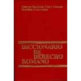 Diccionario de derecho romano. - Imagen 1