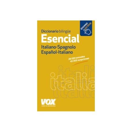 Diccionario esencial Italiano-Spagnolo/Español-Italiano
