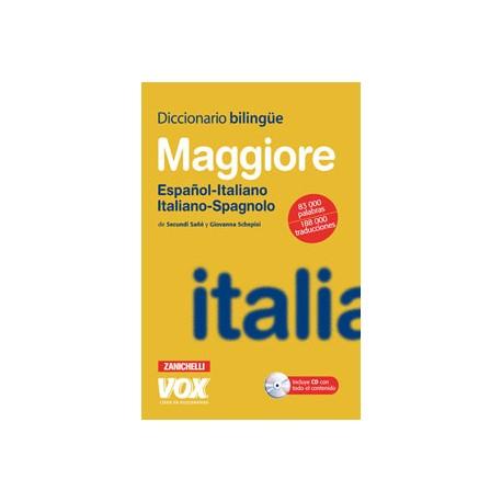 Diccionario Maggiore Español-Italiano Italiano-Spagnolo