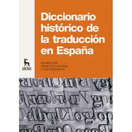 Diccionario histórico de la traducción en España