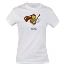 Camiseta Atenea manga corta
