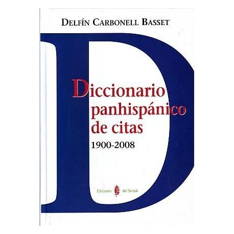 Diccionario panhispánico de citas 1900-2008