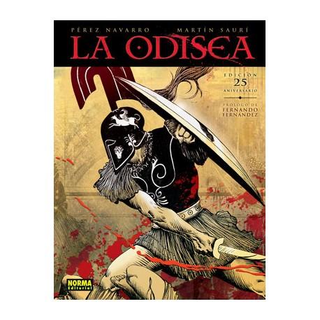 La Odisea. Edición Especial 25 aniversario. Cómic
