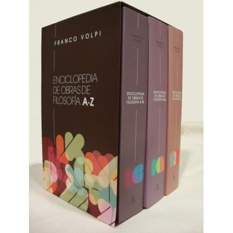 Enciclopedia de obras de filosofía. 3 vols.