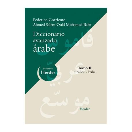 Diccionario avanzado árabe. Tomo II. Español - Árabe