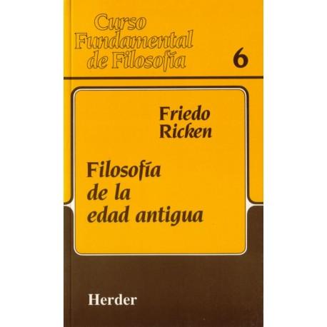 Filosofía de la edad antigua. 2ª edición