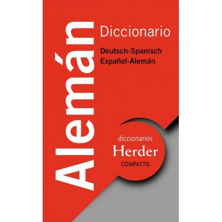 Diccionario Compacto Alemán Deutsch - Spanisch / Español - Alemán