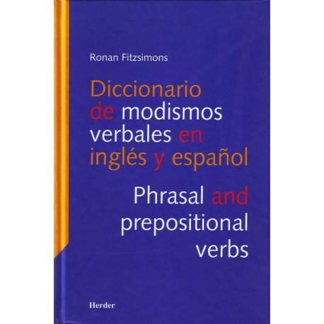Diccionario de modismos verbales en inglés y español