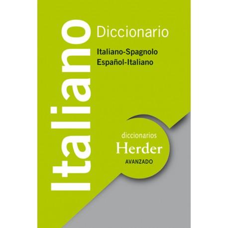 Diccionario Avanzado Italiano Italiano - Spagnolo / Español - Italiano