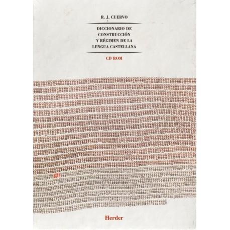 Diccionario de construcción y régimen de la lengua castellana. 8 tomos (A-Z).