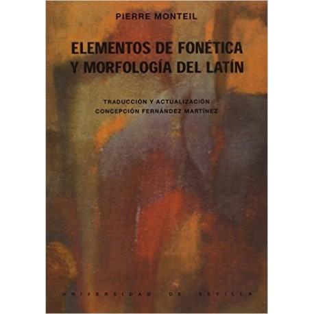 Elementos de fonética y morfología del latín.2ª reimpresión
