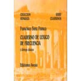 Cuaderno de lexico de frecuencia 1. Griego clásico - Imagen 1