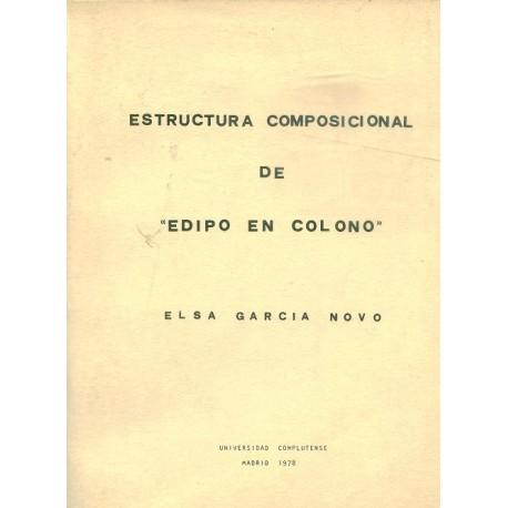 """Estructura composicional de """"Edipo en Colono"""""""