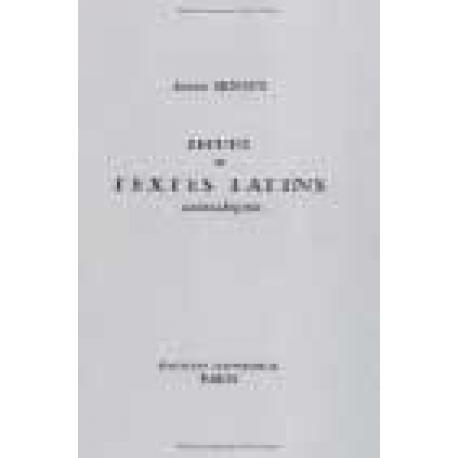 Recueil de textes latins archaïques. Nouvelle édition. 4º tirage