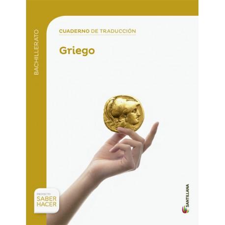 Cuaderno de Traducción al Griego 1 Bachillerato