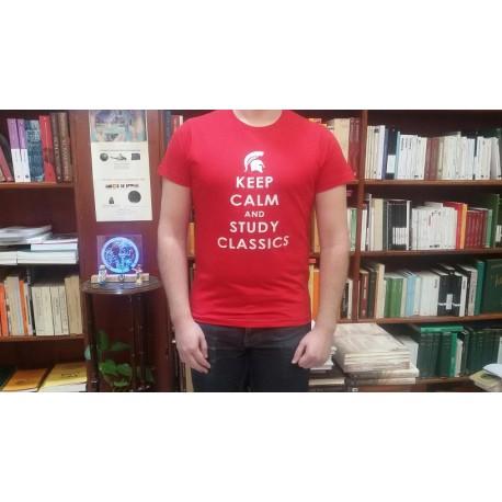 "Camiseta ""KEEP CALM AND STUDY CLASSICS"""