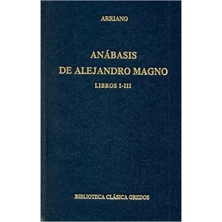 Anábasis de Alejandro Magno. Libros I-III