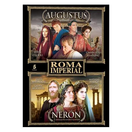 Roma Imperial. Augustus-Nerón. DVD